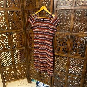 Woolwich size large body con dress